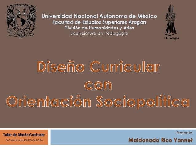 Universidad Nacional Autónoma de México Facultad de Estudios Superiores Aragón División de Humanidades y Artes Licenciatur...