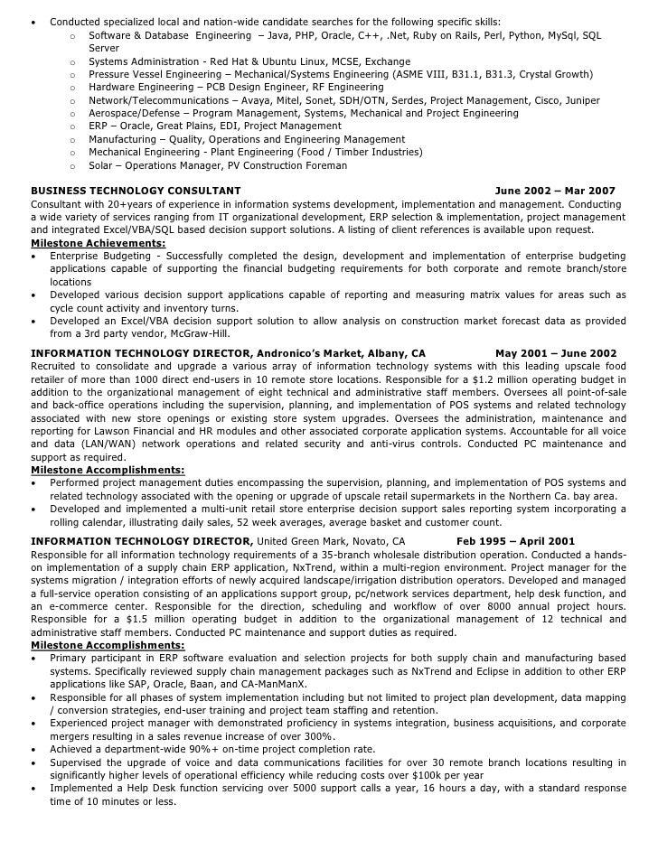 SlideShare Inside Technical Recruiter Resume
