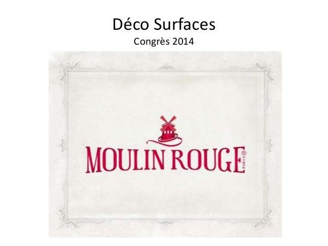 Déco Surfaces Congrès 2014