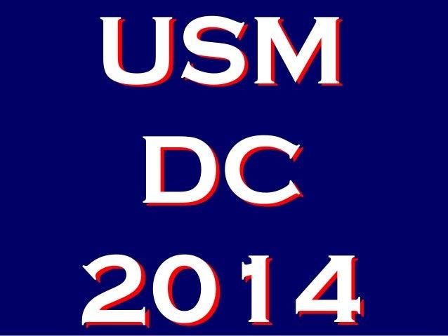USM DC 2014