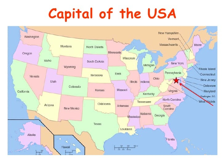 DCpedia People And Events Shaping The US Capital - Capital of usa