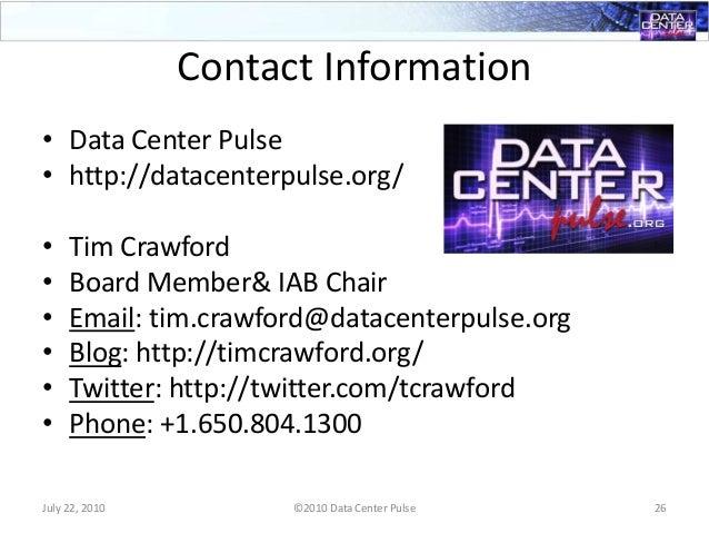 DCP: Data Center Futures 2010 Japan/ Korea