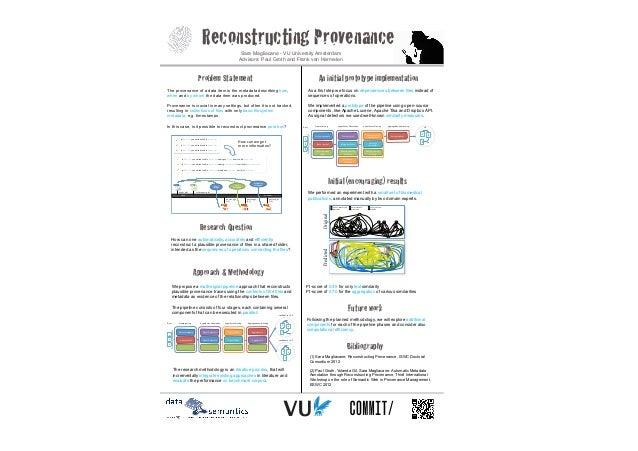 Reconstructing Provenance                         Sara Magliacane - VU University Amsterdam                               ...