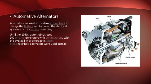 Types Of Alternator Amp Its Application