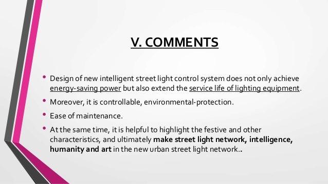 Intelligent Street Light System