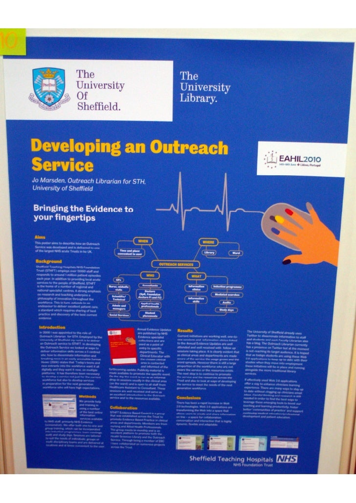 Developing an outreach service (Poster EAHIL2010)