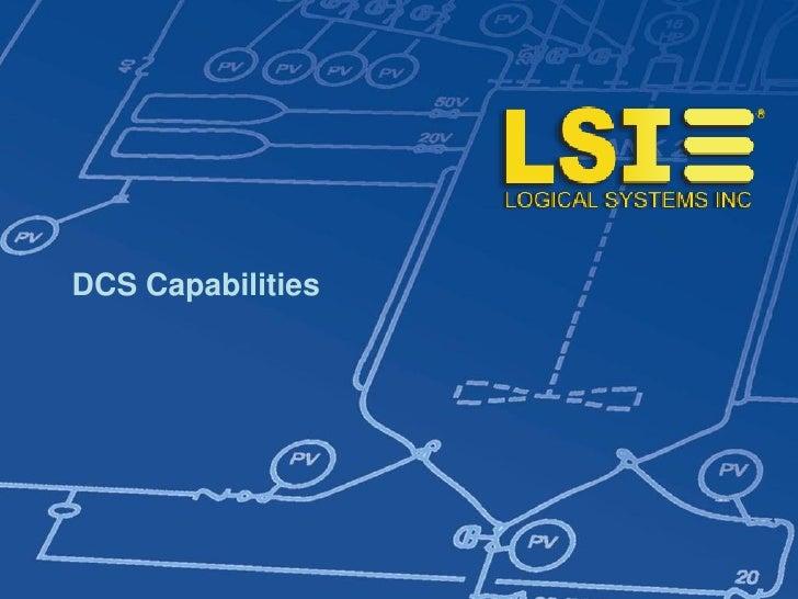 DCS Capabilities