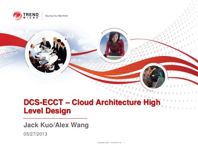 Copyright 2009 Trend Micro Inc.DCS-ECCT – Cloud Architecture HighLevel Design1Jack Kuo/Alex Wang05/27/2013