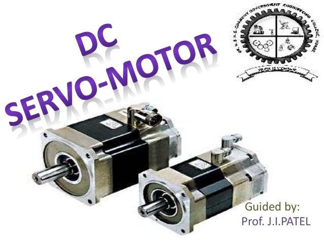 Dc servo motor for Dc motor servo controller