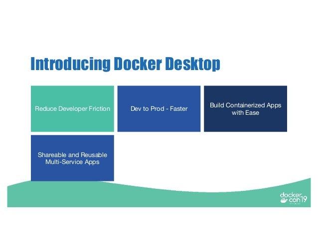 DCSF 19 Using Docker Desktop to Accelerate Software Development