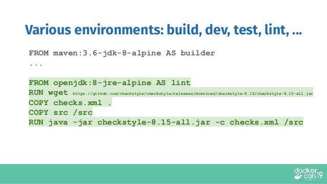 Use Wget In Dockerfile