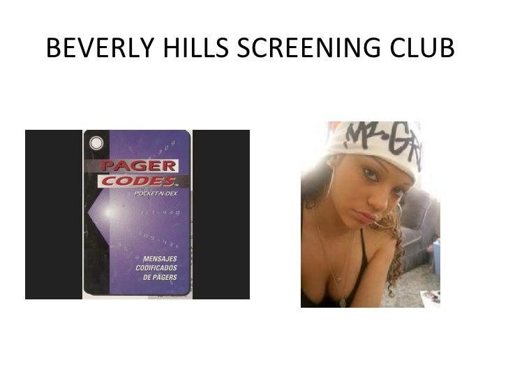 BEVERLY HILLS SCREENING CLUB