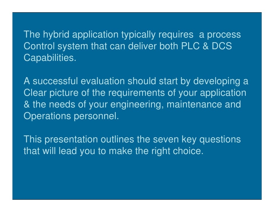 DCS Or PLC Slide 3