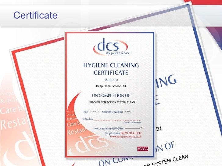 Deep Clean Service Presentation