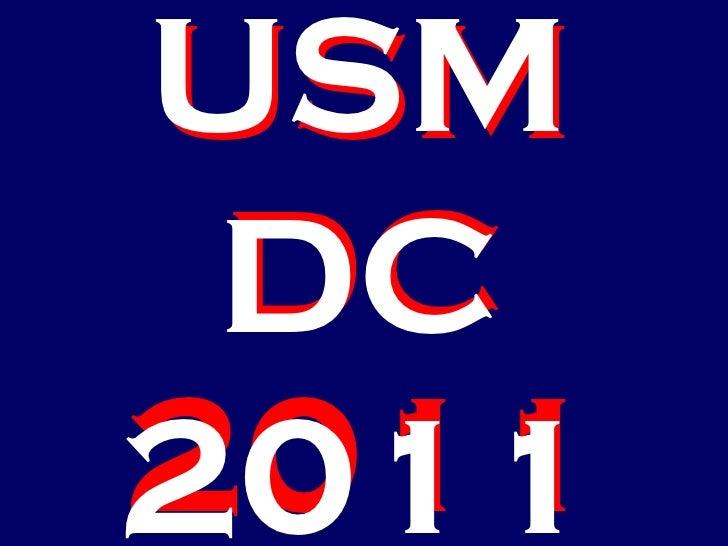 USM DC 2011 USM DC 2011