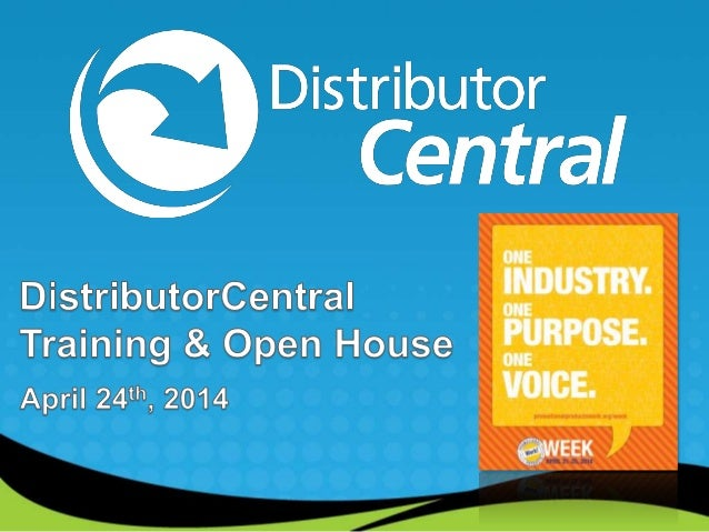 distributorcentral training open house promotional products work. Black Bedroom Furniture Sets. Home Design Ideas
