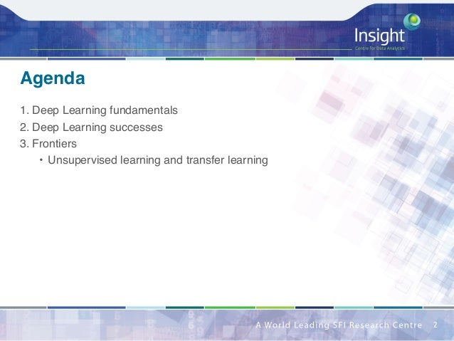 Successes and Frontiers of Deep Learning Slide 2