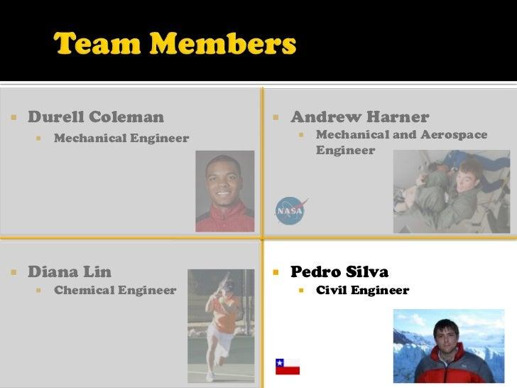 Team Members<br /><ul><li>Andrew Harner