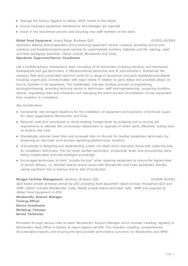 dean weber  u0026 39 s resume