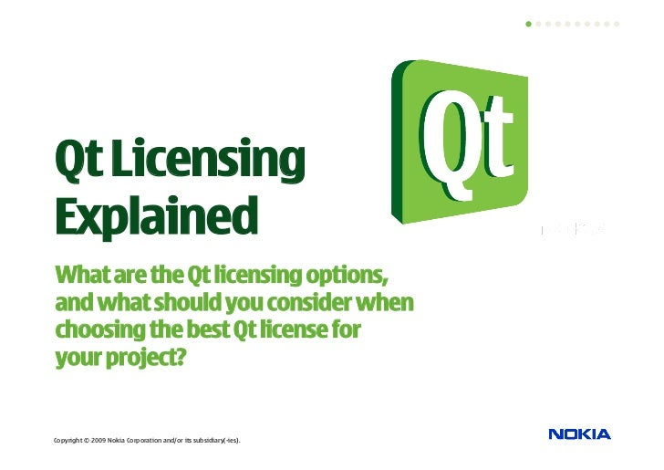 Qt Licensing Explained What are the Qt licensing options, and what should you consider when choosing the best Qt license f...