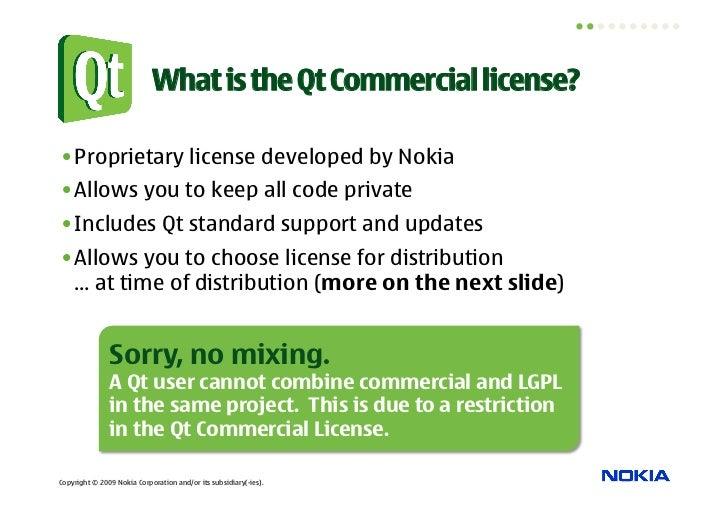 Qt Licensing Explained Slide 3