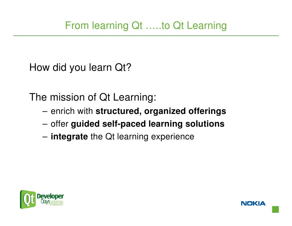 Discover Qt Learning and Certification