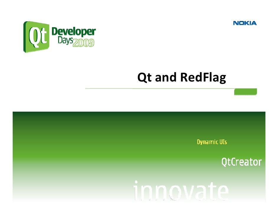 Qt and RedFlag