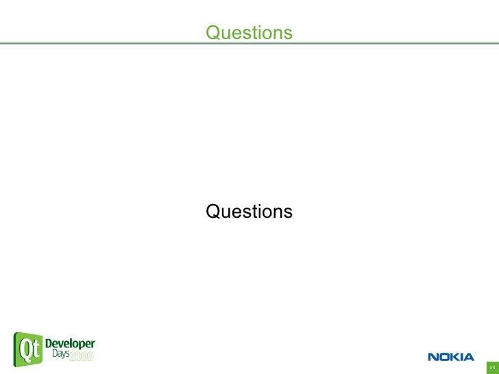Questions     Questions                 13