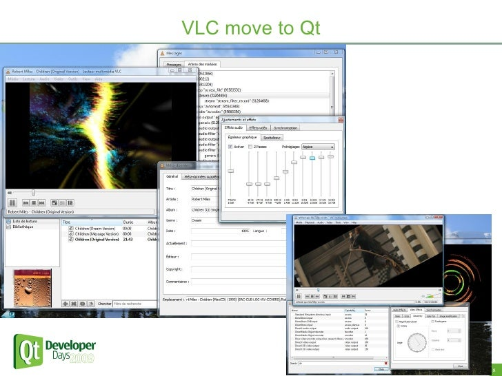 VLC move to Qt                      8   8