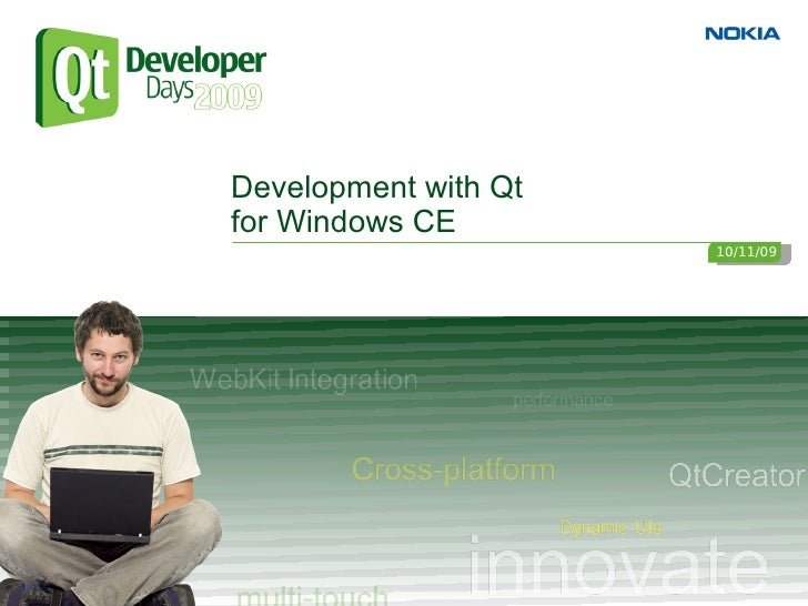 Development with Qt for Windows CE                       10/11/09