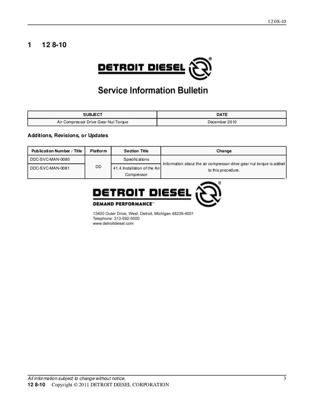 Dd15 Engine Torque Spec