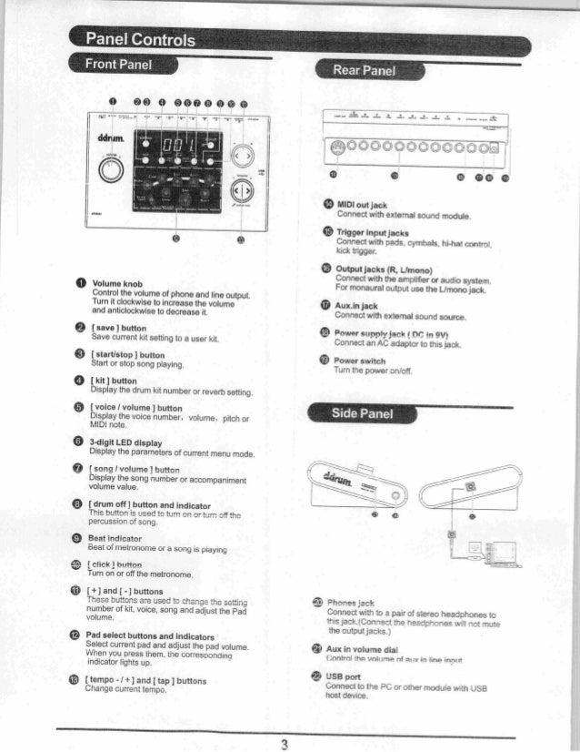 DDRUM dd1 manual