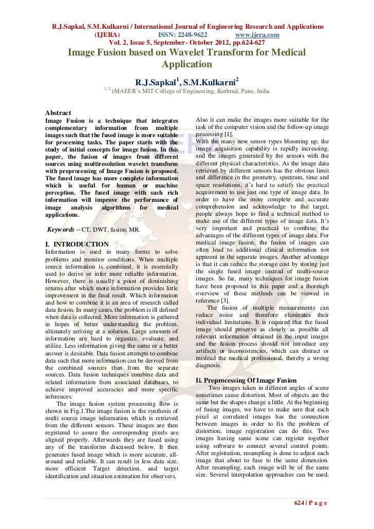 R.J.Sapkal, S.M.Kulkarni / International Journal of Engineering Research and Applications                (IJERA)          ...