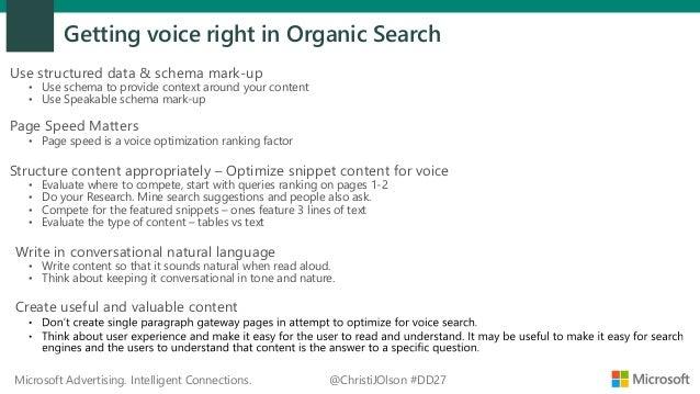 DigitalDealer27 - Voice Search Optimization and 2019 Voice