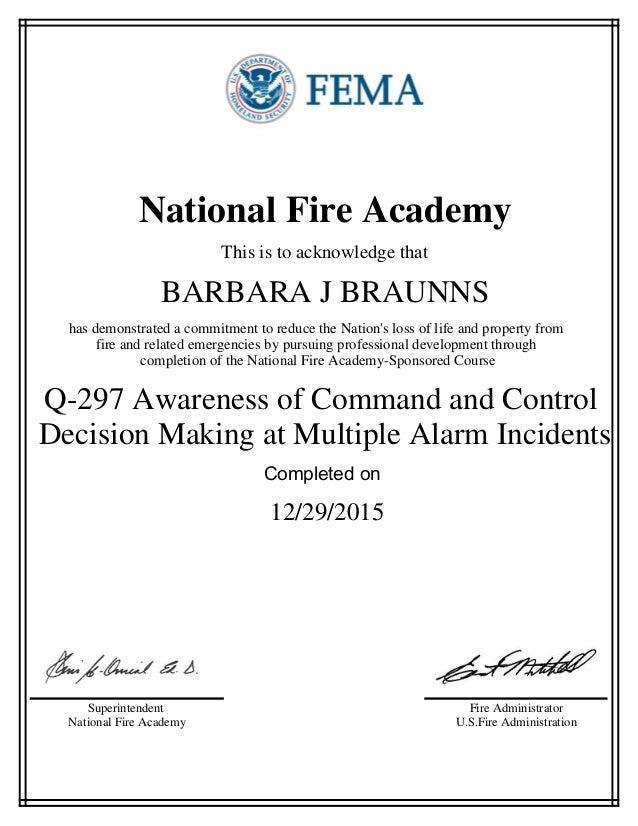 Tcfp Certification Upgrades Efire Academy Oukasfo