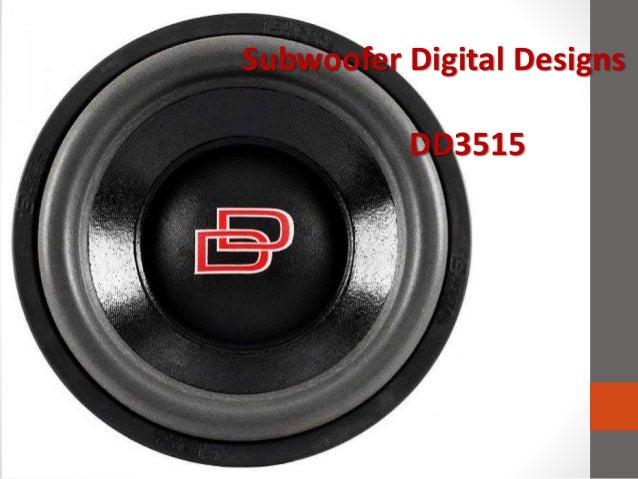 Subwoofer Digital Designs DD3515