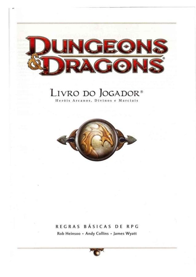 D&d 4.0   livro do jogador 1 - taverna do elfo e do arcanios Slide 2