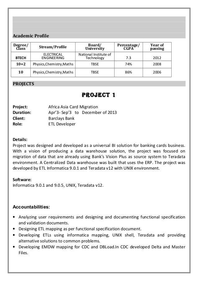 100 resume arijit saha 2202 data warehousing resume