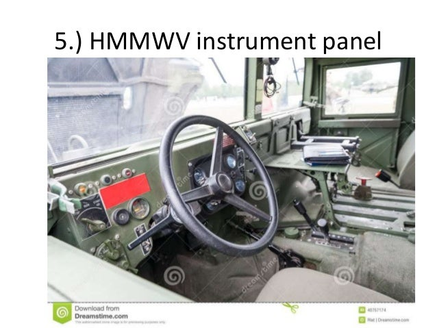 Preventative Maintenance (PMCS) of HMMWV on