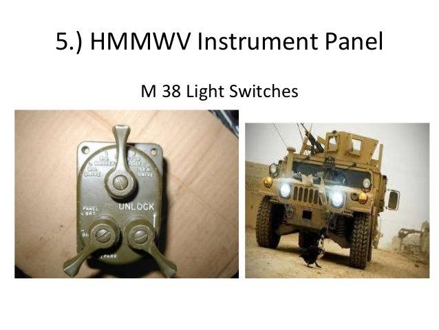 Preventative Maintenance (PMCS) of HMMWV on