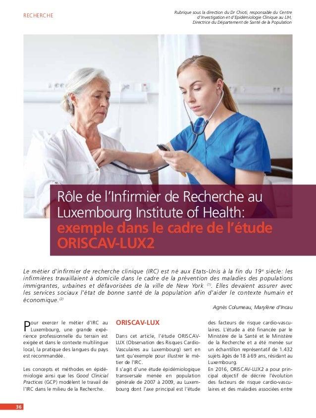 Pour exercer le métier d'IRC au Luxembourg, une grande expé- rience professionnelle du terrain est exigée et dans le conte...