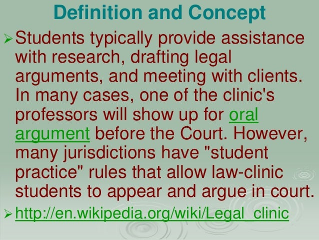 Show up definition law