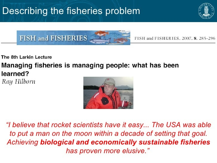 Dorothy 39 s fisheries management dissertation for Sustainable fishing definition