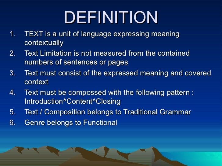 Good Definition Essay Topics