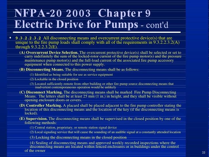 NFPA 20 2003 EPUB