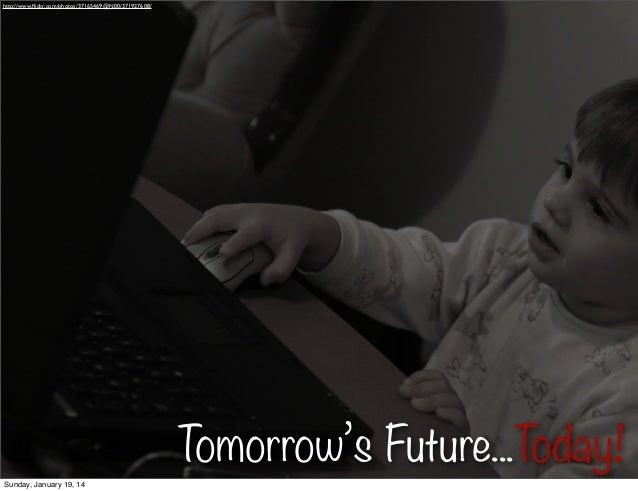 http://www.flickr.com/photos/37165469@N00/371927608/  Tomorrow's Future...Today! Sunday, January 19, 14