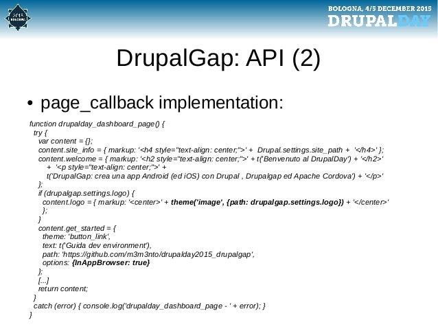 drupalgap  crea una app android  ed ios  con drupal  drupalgap ed apa u2026