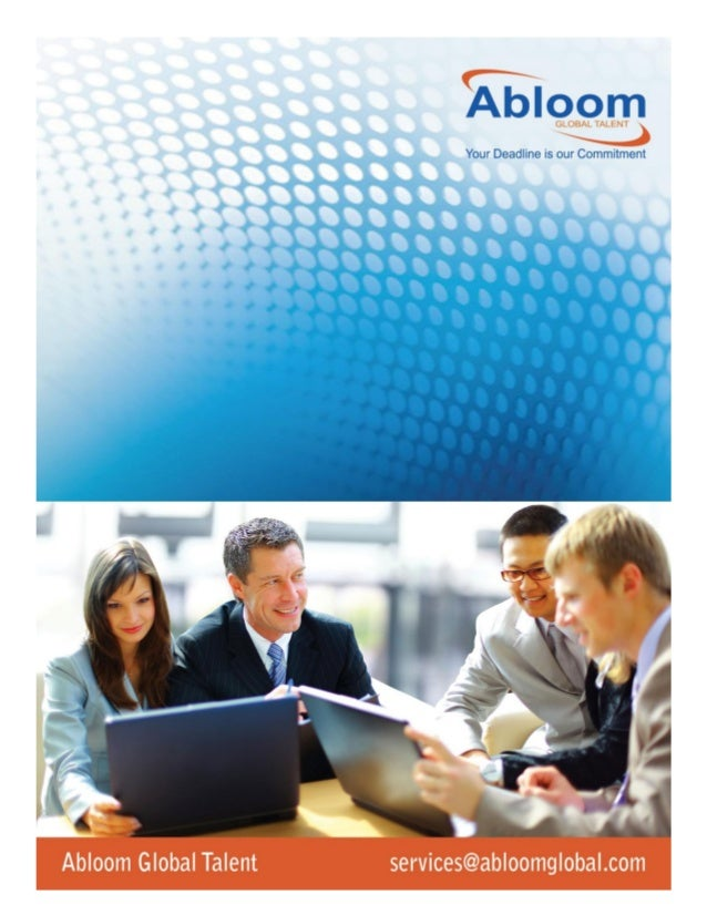 Abloom Global Talent Abloom Global Talent is Recruitment & Staffing Company head quartered in New Delhi, India with presen...