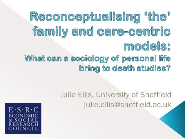    Symbolic power of family and death   Overview of literatures   Explore care-centric and family systems perspectives...