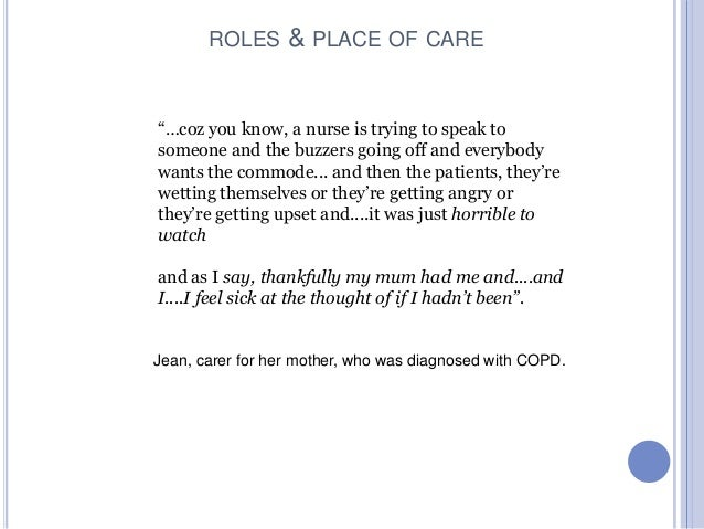 The role of caretakers